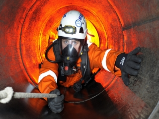 Confined Space  High Risk  City & Guilds image